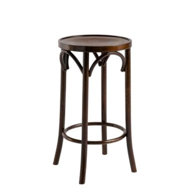 Bentwood Stool Dark Oak