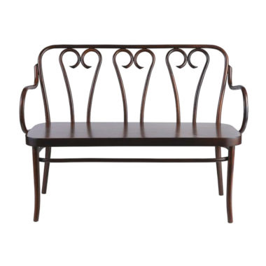 Bentwood Bench Walnut