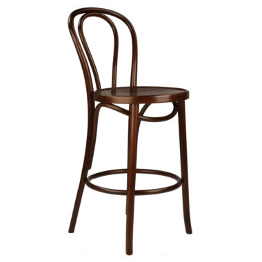 Bentwood Stool Walnut