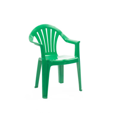 Children's Chair With Arms Green