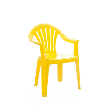 Children's Chair With Arms Yellow
