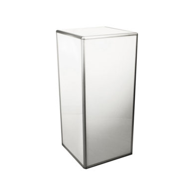 Illuminated Plinth White