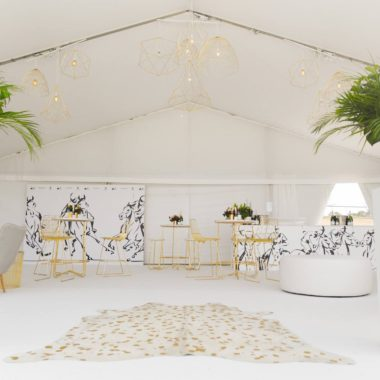 Marquee Lining White