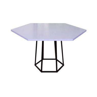 Hex Cafe Table Lavender