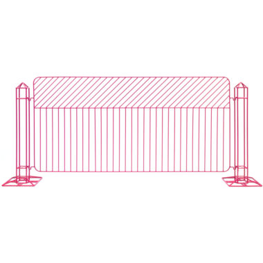Linea Fence Hot Pink