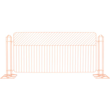 Linea Fence Peachy Pink