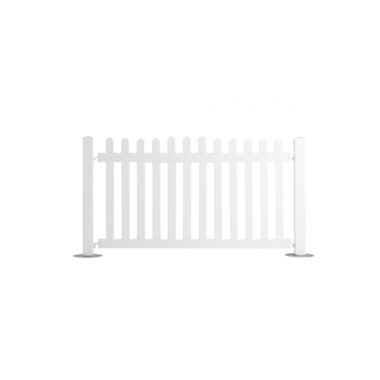 White Picket Fencing 2m