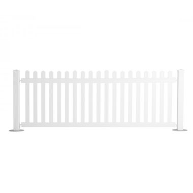 White Picket Fencing 3m